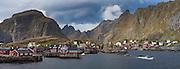 Coastal fishing village of Å, Lofoten Islands, Norway.