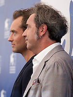 Jude Law and Paolo Sorrentino at the The Young Pope film photocall at the 73rd Venice Film Festival, Sala Grande on Saturday September 3rd 2016, Venice Lido, Italy.