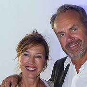 NLD/Amsterdam/20130826 - Nederlandse premiere film Borgman, Bert Kuizinga en partner Astrid