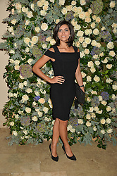 LUCY VERASAMY at a private view of the Beulah Winter Autumn Winter collection entitled 'Chrysalis' held at The South Kensington Club, London SW7 on 24th September 2015.