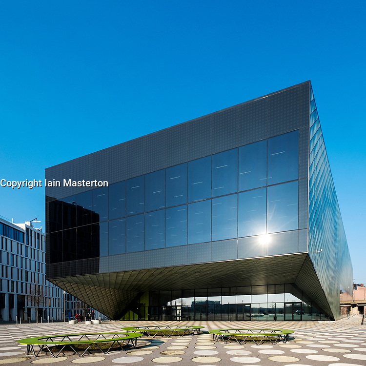 External view of new Futurium museum, Haus der Zukunft ( House of the future) in Mitte, Berlin, Germany