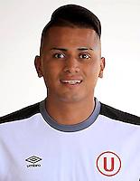 Football - Peruvian League Descentralizado - <br /> Movistar Trophy 2016 - Abertura Tournament / <br /> Club Universitario De Deportes Lima - <br /> Diego Chavez
