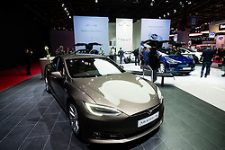 Tesla Model S at Paris Motor Show 2016