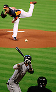 Jun 16, 2013; Houston, TX, USA; during the first inning at Minute Maid Park. Mandatory Credit: Thomas Campbell-USA TODAY Sports