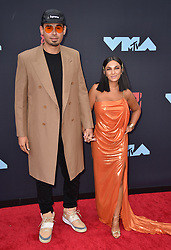 Afrojack and Elettra Lamborghini attend the 2019 MTV Video Music Awards at Prudential Center on August 26, 2019 in Newark, New Jersey. Photo by Lionel Hahn/ABACAPRESS.COM