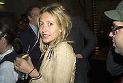 SOPHIE DURLSTON AND JAMIE BRETT, Discover Wilton's Music Hall, Fundraising event. Graces alley, Ensign St. London. 5 December 2007. -DO NOT ARCHIVE-© Copyright Photograph by Dafydd Jones. 248 Clapham Rd. London SW9 0PZ. Tel 0207 820 0771. www.dafjones.com.