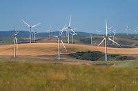 Wind Turbines Blue Mountains Washington