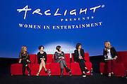 Beatriz Acevedo, Founder and President, MiTu, Maiah Ocando, Actress, Julie Ann Crommett, Google, Lesley Chilcott, Producer, and Jennifer Jolly, Journalist