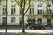"""March, 27th 2020 - Paris, Ile-de-France, France: Paris under confinement, Ellie SAAB, Avenue Montaigne area of high fashion, beauty, accessories, haute couture, all shops closed, in 8th arrondissement, and all public spaces virtually empty to stop the spread of the Coronavirus, during the eleventh day of near total lockdown imposed in France. The President of France, Emmanuel Macron, said the citizens must stay at home for at least 15 days, that has been extended. He said """"We are at war, a public health war, certainly but we are at war, against an invisible and elusive enemy"""". All journeys outside the home unless justified for essential professional or health reasons are outlawed. Anyone flouting the new regulations is fined. Nigel Dickinson"""