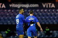 John Rooney. Stockport County 3-1 Guiseley AFC. Buildbase FA Trophy. 19.12.20