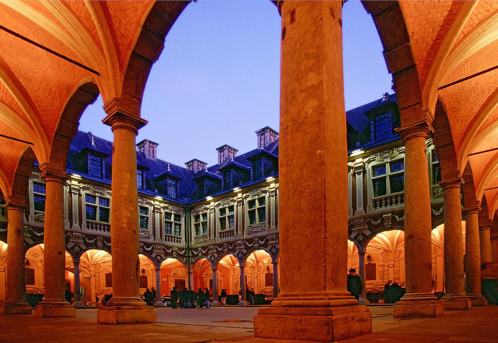 "The ""Vieille Bourse"" is without doubt the finest monument in Lille, Nord-Pas-de-Calais region, France."