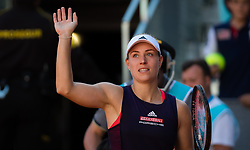 May 5, 2019 - Madrid, MADRID, SPAIN - Angelique Kerber of Germany in action during her first-round match at the 2019 Mutua Madrid Open WTA Premier Mandatory tennis tournament (Credit Image: © AFP7 via ZUMA Wire)