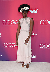 February 19, 2019 - Beverly Hills, California, U.S. - Danai Gurira arrives for the 21st CDGA (Costume Designers Guild Awards) at the Beverly Hilton Hotel. (Credit Image: © Lisa O'Connor/ZUMA Wire)