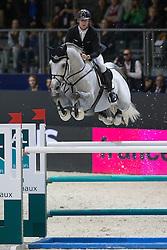 Ehning Marcus (GER) - Cornado NRW<br /> Longines FEI World Cup™ Jumping Final 2013/2014<br /> Lyon 2014<br /> © Dirk Caremans