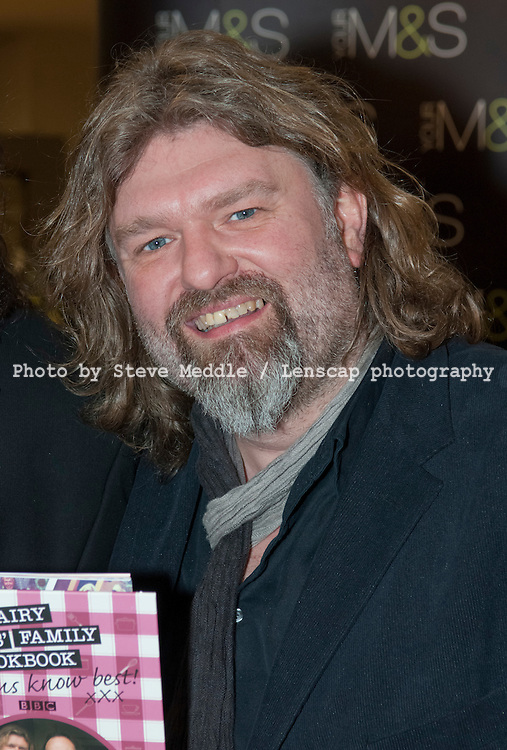 The Hairy Bikers, Simon King, booksigning, Marks and Spencer, London , Britain - 11 March 2010
