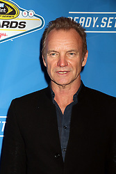 Sting attending the 2016 NASCAR Sprint Cup Series Awards
