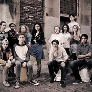 Sidewalk Film Festival - Youth Board Group Photo<br /> Photo by Randal Crow