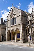 Methodist church building, Museum Street, Ipswich, Suffolk, England, UK built 1861 as a Wesleyan Chapel