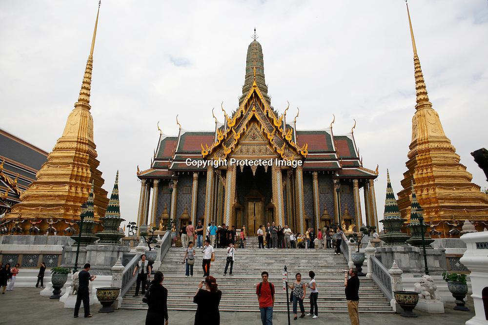 Ornates at the Grand Palace in Bangkok