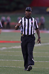 NORMAL, IL - September 08: Jom Rogers during 107th Mid-America Classic college football game between the ISU (Illinois State University) Redbirds and the Eastern Illinois Panthers on September 08 2018 at Hancock Stadium in Normal, IL. (Photo by Alan Look)