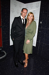 DAVID THOMAS and actress MICHELLE COLLINS at the 40th birthday party and celebration of 20 years as a leading stylist of David Thomas held at Too2Much club, 11 Walkers Court, London W1 on 22nd March 2006.<br /><br />NON EXCLUSIVE - WORLD RIGHTS