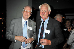 Left to right, SIR STUART BELL and LORD BUTLER at the launch of the Imperial War Museum's 70th anniversary commemorating the outbreak of World War 11 held at the Cabinet War Rooms, Whitehall, London on 2nd September 2009.