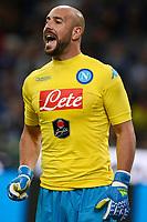 Jose Reina Napoli<br /> Milano 16-04-2016 Stadio Giuseppe Meazza - Football Calcio Serie A Inter - Napoli. Foto Giuseppe Celeste / Insidefoto
