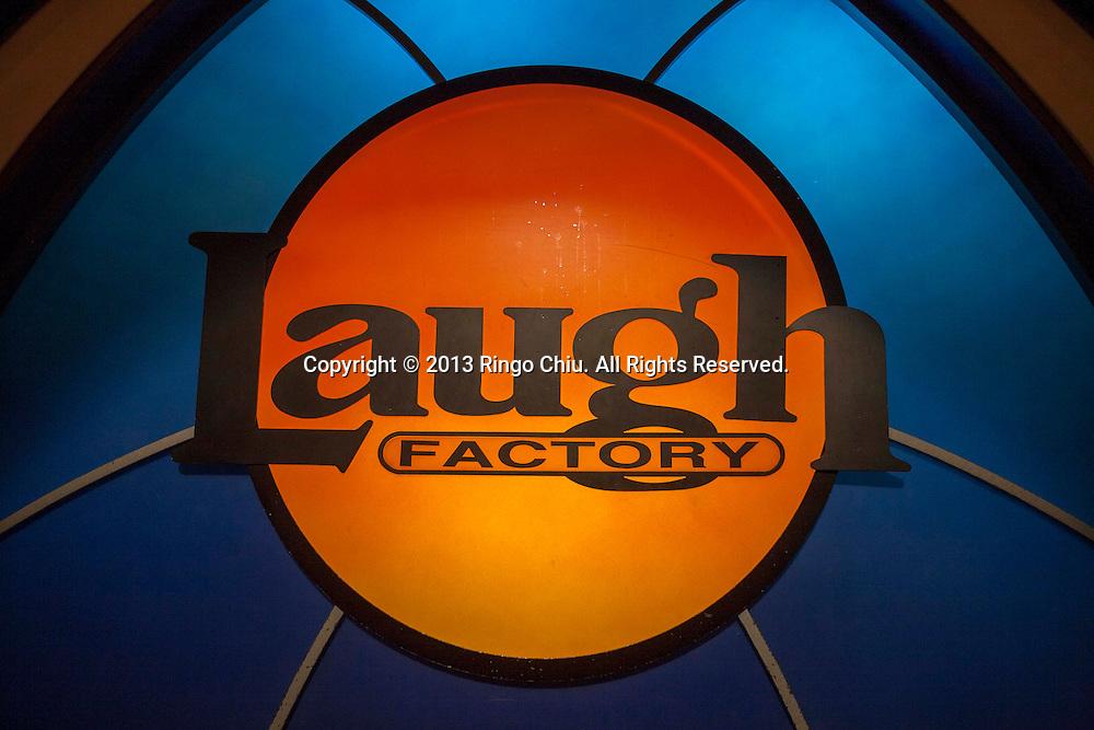 The comedy venue Laugh Factory in West Hollywood. (Photo by Ringo Chiu/PHOTOFORMULA.com).