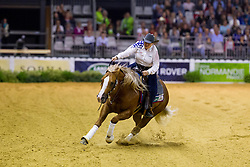 Mandy Mccutcheon, (USA), Yellow Jersey - Individual Final Comptetition - Alltech FEI World Equestrian Games™ 2014 - Normandy, France.<br /> © Hippo Foto Team - Leanjo De Koster<br /> 30-08-14