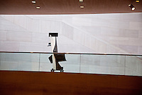 National Gallery, Washington DC. Looking out across the modern wing