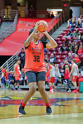 NORMAL, IL - October 12: Simone Goods during Illinois State Athletics Hoopfest on October 12 2018 at Redbird Arena in Normal, IL. (Photo by Alan Look)