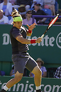 Lukas Lacko (SVK) Vs Marco Cecchinato (ITA) Action at the Nature Valley International at Devonshire Park, Eastbourne, United Kingdom on 29th June 2018. Picture by Jonathan Dunville.