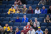 The Oracle Arena empties as the Golden State Warriors bench takes over the game against the LA Clippers at Oracle Arena in Oakland, Calif., on January 28, 2017. (Stan Olszewski/Special to S.F. Examiner)