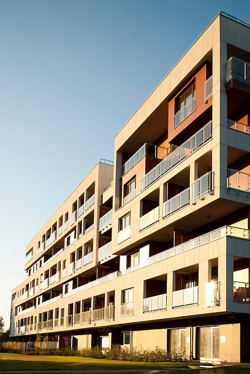 Delicato - part of Eko Park Estate in Warsaw. Architect: Kurylowicz & Associates.