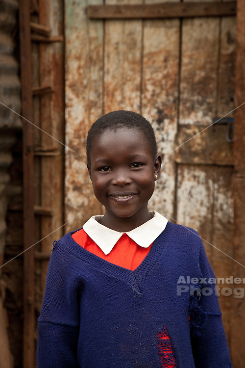 Nairobi June, 2010 - A resilient  generation of children, orphaned by AIDS, are growing up in basic, community built orphanges in the middle of the harsh slums of Nairobi. The homes are created and staffed by area  residents with no visible goverment support, they all provide schooling along with the basic necessities of survival.