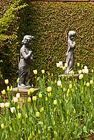 Gardens of Virginia House, Richmond, Virginia USA