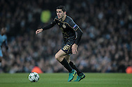 Tom Rogic (Celtic) during the Champions League match between Manchester City and Celtic at the Etihad Stadium, Manchester, England on 6 December 2016. Photo by Mark P Doherty.