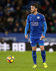 Leicester City v Huddersfield Town - 01 January 2018