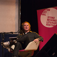 Ray Davies<br /> On stage at the Stoke Newington Literary Festival. 9 June 2014<br /> <br /> Picture by David X Green/Writer Pictures