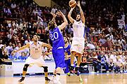 DESCRIZIONE : Forli DNB Final Four 2014-15 Npc Rieti BCC Agropoli<br /> GIOCATORE : Andrea Giampaoli<br /> CATEGORIA : tiro three points<br /> SQUADRA : Npc Rieti<br /> EVENTO : Campionato Serie B 2014-15<br /> GARA : Npc Rieti BCC Agropoli<br /> DATA : 13/06/2015<br /> SPORT : Pallacanestro <br /> AUTORE : Agenzia Ciamillo-Castoria/M.Marchi<br /> Galleria : Serie B 2014-2015 <br /> Fotonotizia : Forli DNB Final Four 2014-15 Npc Rieti BCC Agropoli