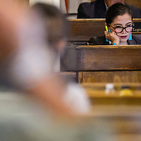 Navajo Nation attorney general Ethel Branch attends the Navajo Nation Council session Tuesday in Window Rock.