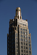 Carbide & Carbon Building along South Michigan Ave in Chicago, IL.