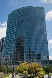USA, Washington, Bellevue. City Center Plaza building