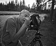 Gary Albertson, a landscape photographer in Camp Sherman, Oregon.  He has pigment dispersion glaucoma that has taken his eyesight except for a slight amount of peripheral vision.  Gary works around his visual restrictions and continues to photograph the Metolius River, the place he knows so well.