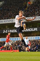 Tottenham's Jan Vertonghen  - Photo mandatory by-line: Mitchell Gunn/JMP - Tel: Mobile: 07966 386802 02/03/2014 - SPORT - FOOTBALL - White Hart Lane - London - Tottenham Hotspur v Cardiff City - Premier League