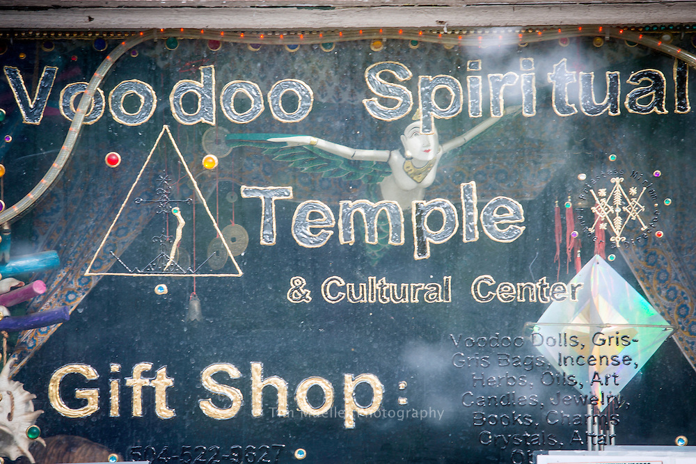 The Voodoo Spiritual Temple at 828 N Rampart St, New Orleans, La.