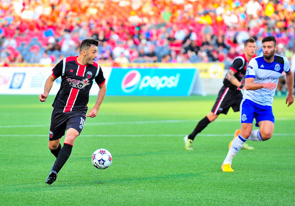 May 29, 2015: Ottawa Fury versus FC Edmonton in NASL game week 9 at TD Place Stadium in Ottawa, ON. The final home game of the spring season for the Fury finished 0-0.