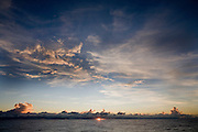Sunset, South Pacific