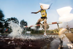 Tim Senicar competes in 3000m Steeplechase during day one of the 2020 Slovenian Cup in ZAK Stadium on July 4, 2020 in Ljubljana, Slovenia. Photo by Grega Valancic / Sportida