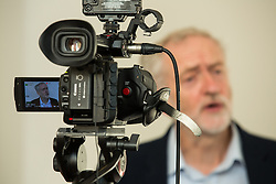 © Licensed to London News Pictures . 30/09/2015 . Brighton , UK . Labour Party Leader JEREMY CORBYN giving interviews at the conference venue this morning ( Wednesday 30th September 2015 ) . The 2015 Labour Party Conference . Photo credit : Joel Goodman/LNP